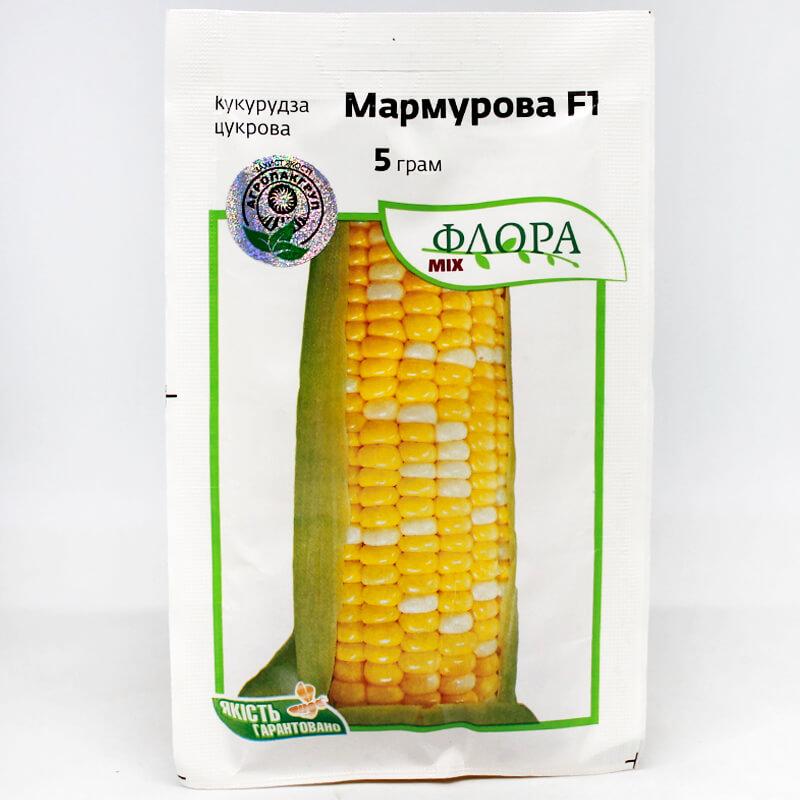 Кукурудза цукрова Мармурова F1