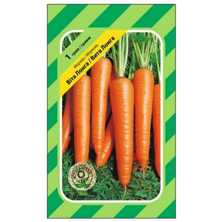 Среднепоздний сорт моркови Вита Лонга.
