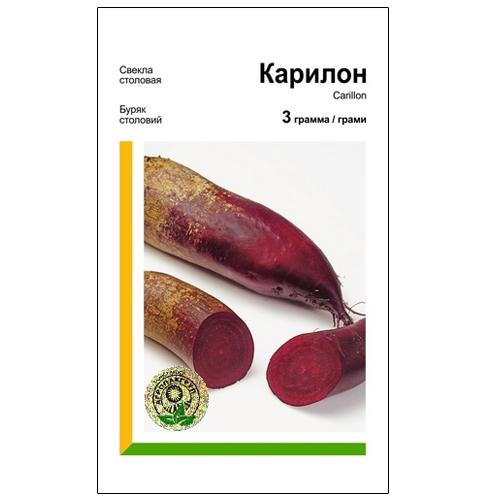 Високоврожайний сорт середньораннього столового буряку Карілон.