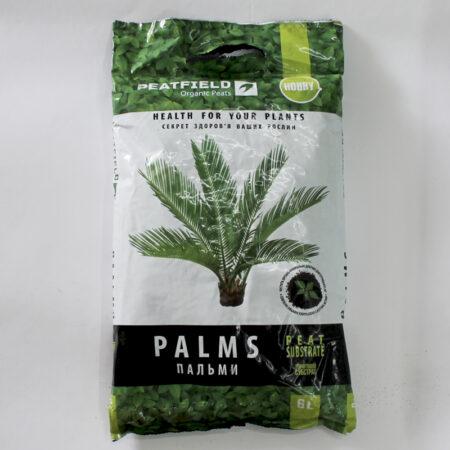 Субстрат торфяной PEATFIELD для Пальм прекрасно подходит для выращивания в контейнерах пальм, юкк и других крупных растений, которым необходим слабокислый, долговечный и рыхлый субстрат.