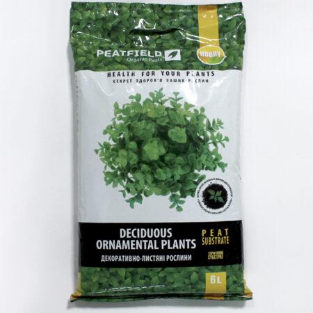 Субстрат торфяной PEATFIELDдля декоративно-лиственных растений