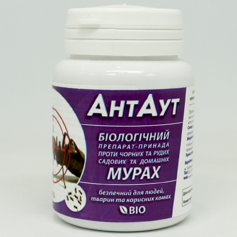 АнтАут - біопрепарат від мурах