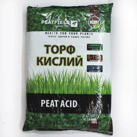 Субстрат торф'яний PEATFIELD торф кислий підходить для професійного та аматорського вирощування рослин сімейства вересових - рододедрон, а також чорниці, журавлини, хвойних рослин та інших. Підходить для рослин, яким необхідний низький pH і висока вологоємність
