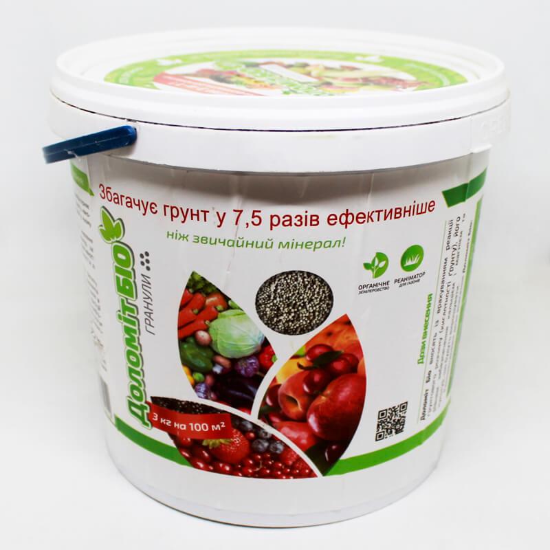Органічне добриво Доломіт Біо, 3 кг