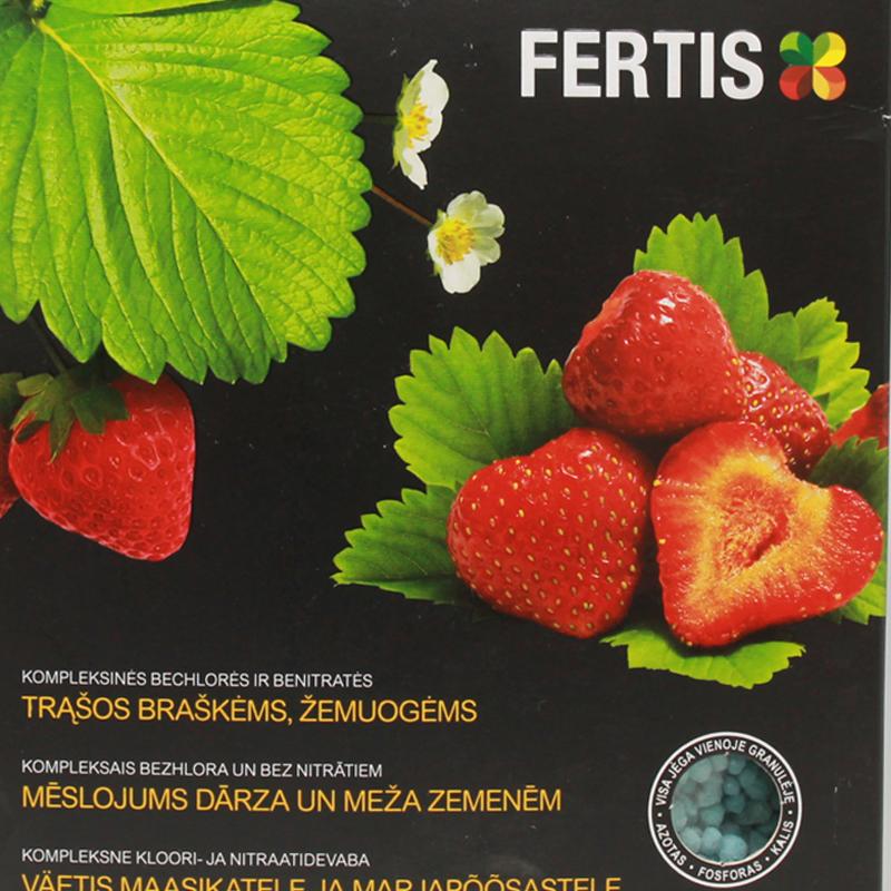 Комплексное удобрение для клубники и земляники Fertis