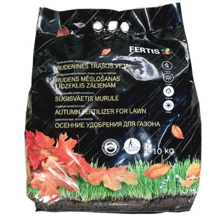Комплексне осіннє добриво для газону Fertis, 10 кг