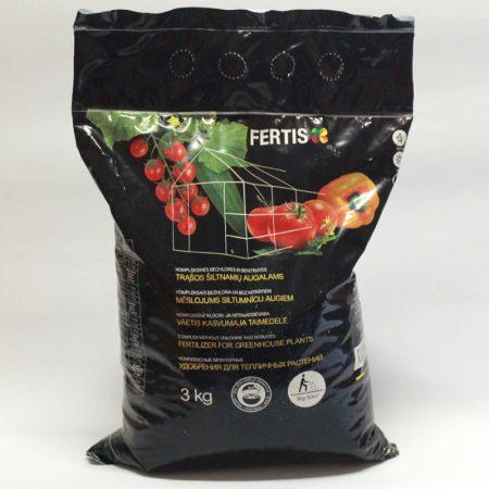 Комплексное удобрение для тепличных растений Fertis, 3кг