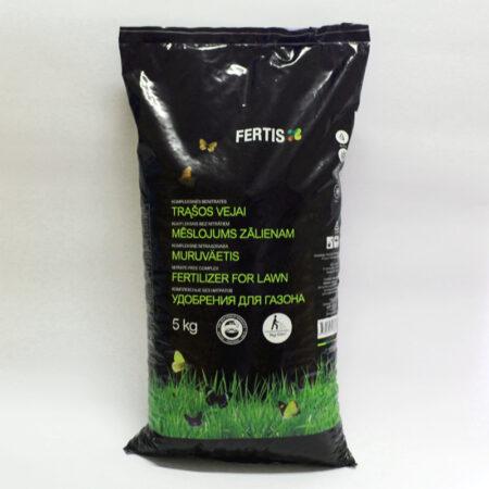 Комплексне весняне добриво для газону Fertis без нітратів, 5 кг.
