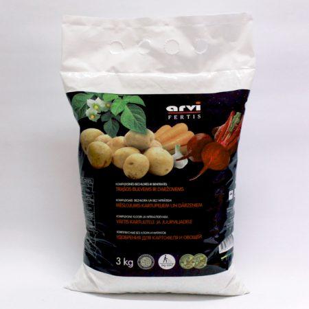 Комплексное удобрение для картофеля и овощей Fertis