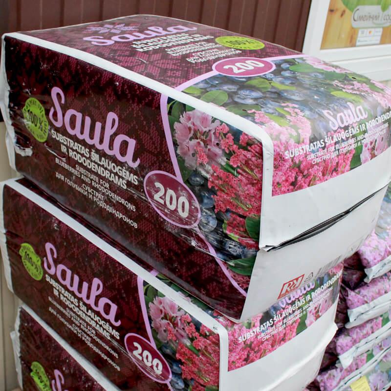 Торф'яний субстрат SAULA для лохини та рододендронів