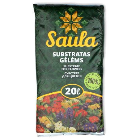 Торфяной субстрат SAULA для цветов