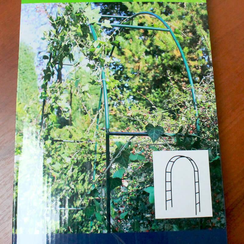 Пергола (арка) для огорода GR4313