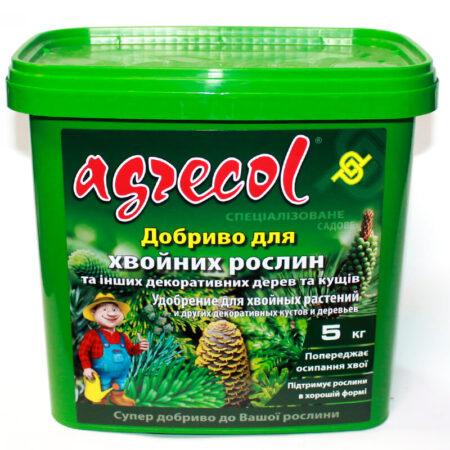 Добриво Agrecol для хвойних рослин