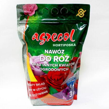 Добриво Hortifoska для троянд Agrecol, 3 кг