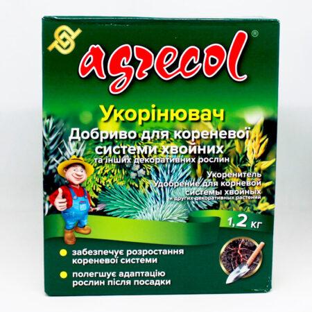 Удобрение Agrecol для укоренения хвойных