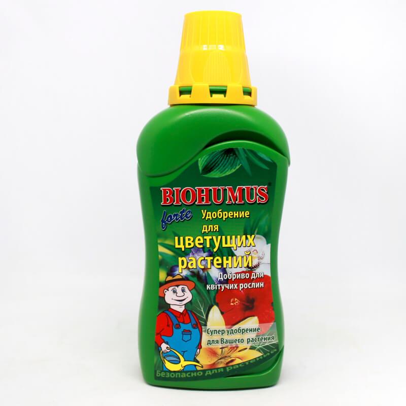 Добриво Agrecol Biohumus Forte для квітучих рослин