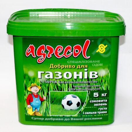 Добриво Agrecol Super Багатокомпонентне для газонів