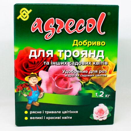 Добриво Agrecol для троянд