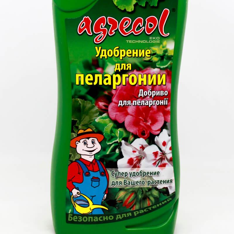 Добриво Agrecol для пеларгонії