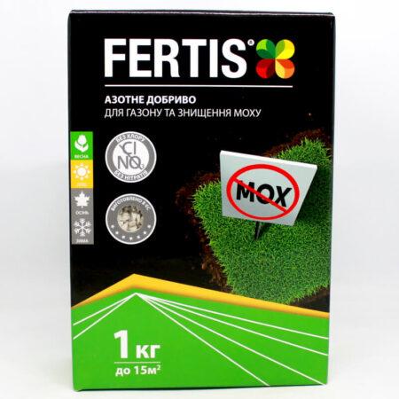 Fertis для газону та знищення моху