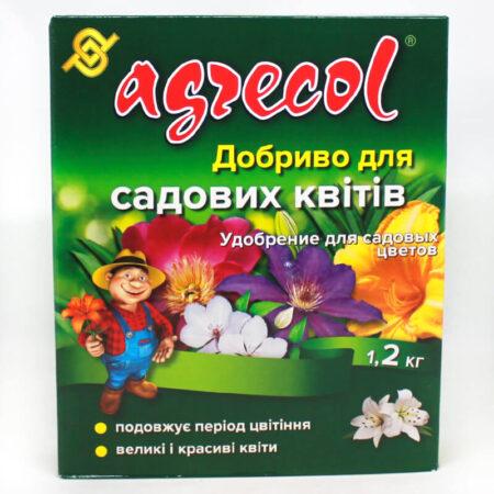 Удобрение Agrecol для садовых цветов