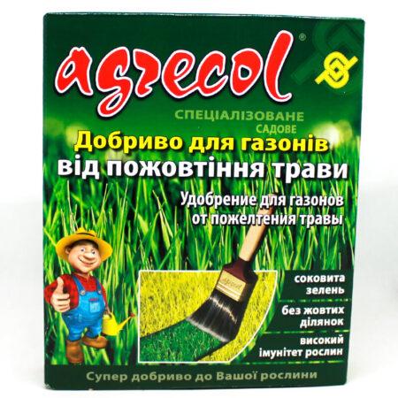 Удобрение Agrecol для газонов от пожелтения травы