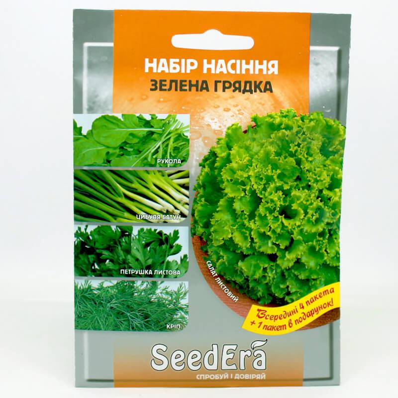 Набір насіння Зелена грядка