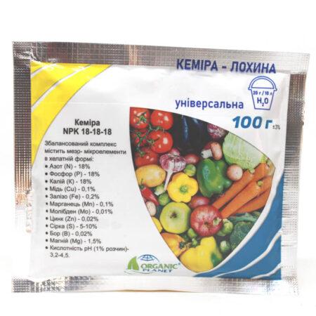 Кеміра - Лохина (NPK 18-18-18) універсальна
