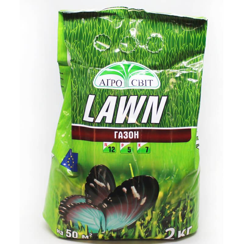 Комплексне добриво LAWN для газону, 2кг