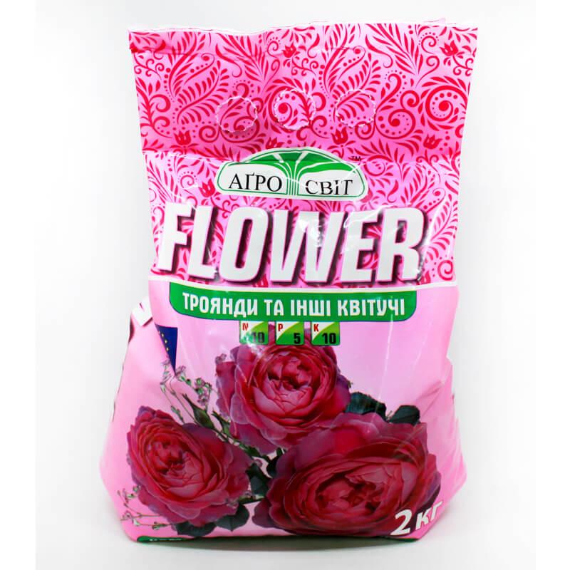 Комплексне добриво FLOWER для троянд, 2 кг