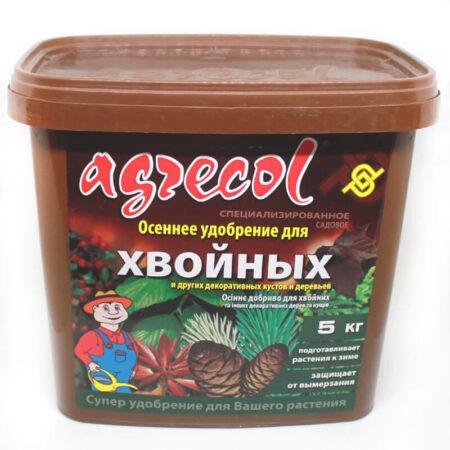 Осеннее удобрение для хвойных растений Agrecol