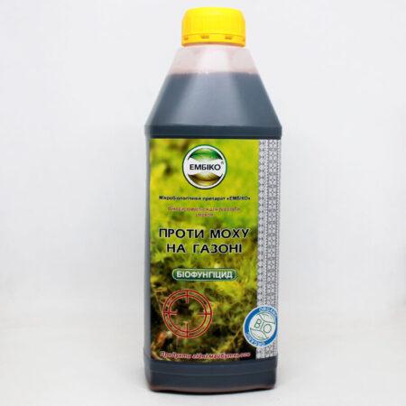 Біофунгицид Ембіко проти моху на газоні 1л