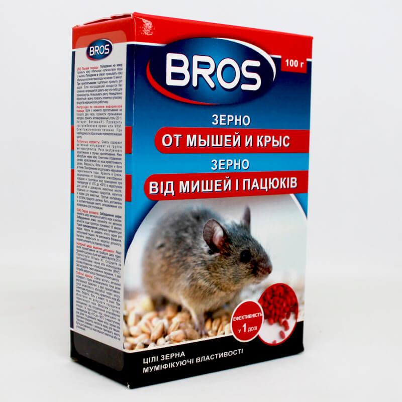 BROS зерно від мишей та щурів