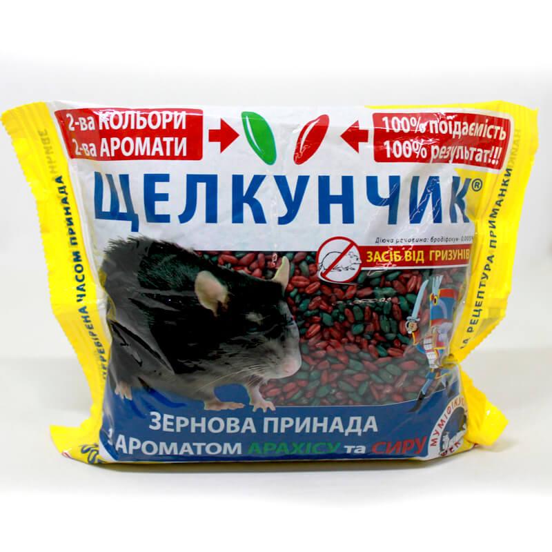 Зерновая приманка от крыс и мышей Щелкунчик