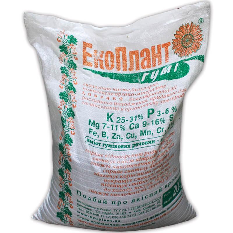 Экоплант-Гуми® органо-минеральное удобрение
