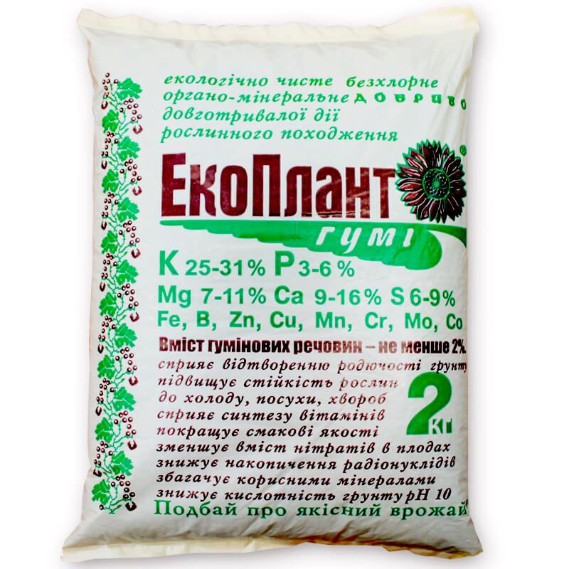 ЕкоПлант-Гумі® органо-мінеральне добриво