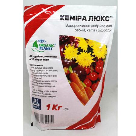Минеральное удобрение Кемира Люкс NPK 14-11-25, Organik Planet