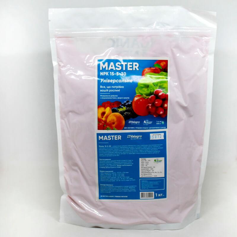 Комплексне мінеральне добриво Майстер (Master) 15-5-30+2Mg