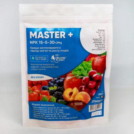 Комплексное минеральное удобрение Мастер (Master) 15-5-30+2Mg