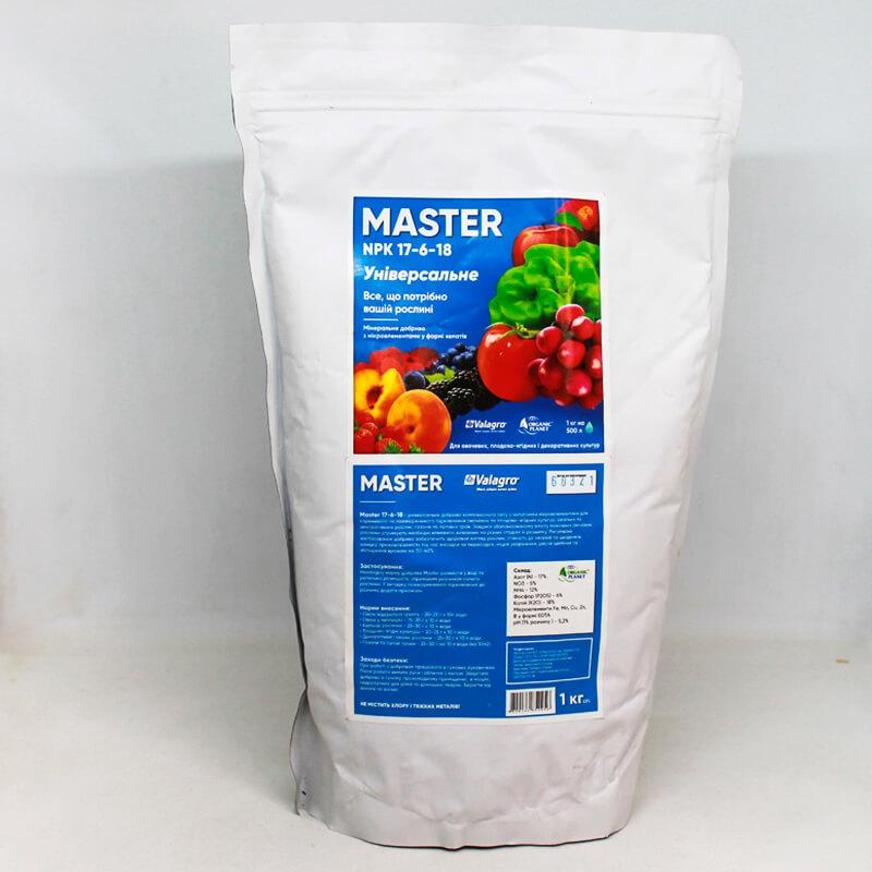 Универсальное комплексное минеральное удобрение Мастер (Master) 17-6-18