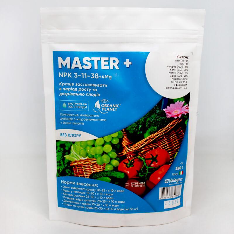 Универсальное удобрение Мастер (Master) 3.11.38+4Mg, Valagro