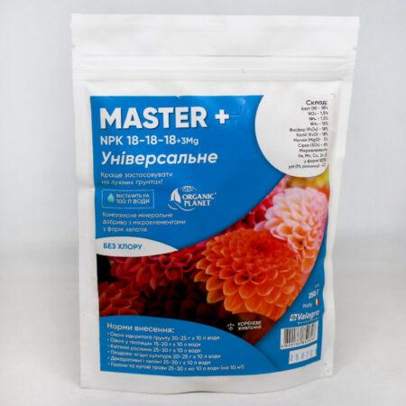 Комплексное минеральное удобрение Мастер (Master) 18-18-18+3Mg
