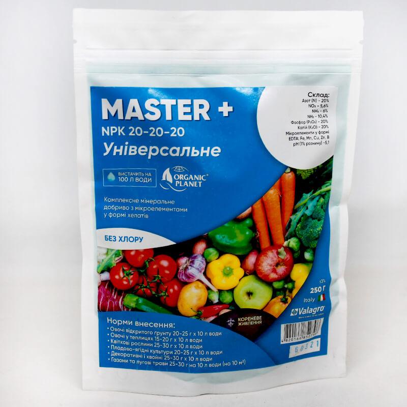 Универсальное комплексное минеральное удобрение Мастер (Master) 20-20-20